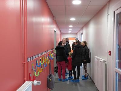 Ecole couloir