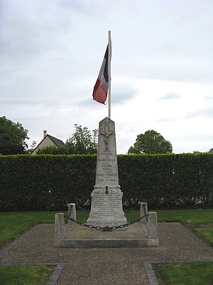 monument aux morts Manneville-la-Goupil