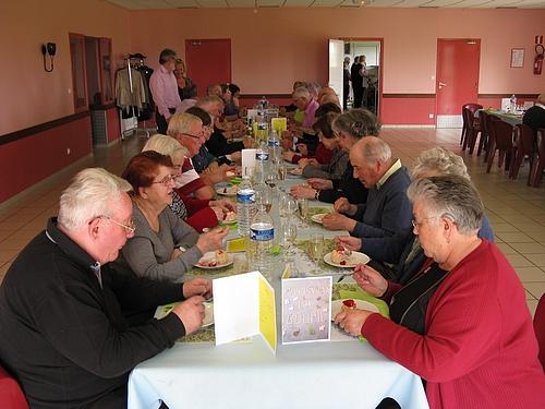 Repas des anciens 2014 Manneville-la-Goupil
